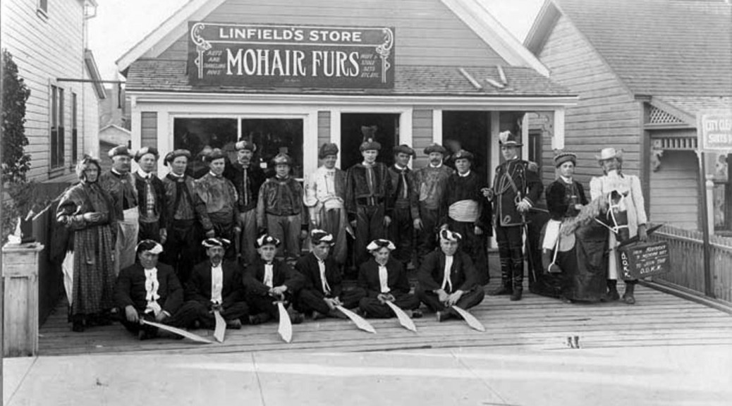 Linfield's Store, Medicine Hat c. 1914