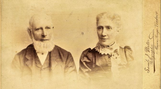 Fig. 2 Mark Linfield (1825-1909) and his wife.