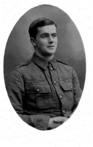 Harold's younger brother Wilfred, who survived the Great War 1914.