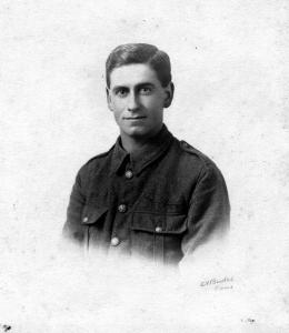 Private Harold Frank Linfield 1914