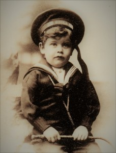 Fig. 1:  Arthur at the age of 3