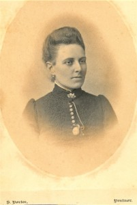 Fig. 11 Mabel Linfield c.1890