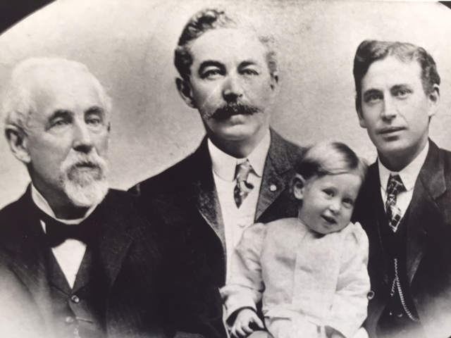 Fig. 13 Four generations of the Petherick family.