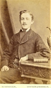 Fig. 15 A possible image of James Linfield (1855-81)