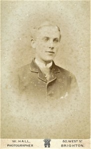 Fig. 22 A suspected image of Francis Spencer Linfield c.1880