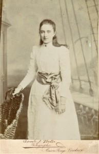 Fig. 8 Charlotte Linfield by Samuel Porter